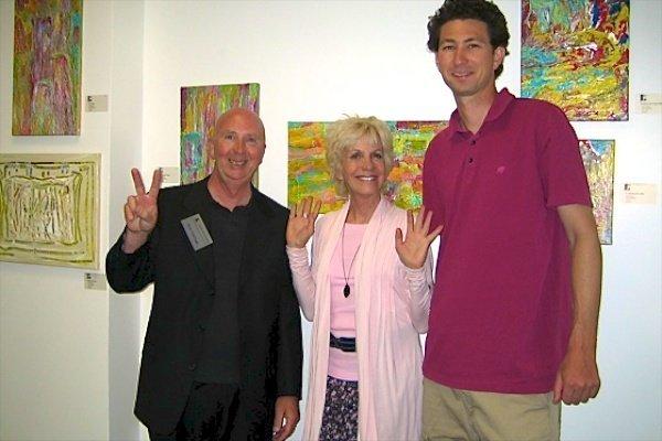 Rich VanGogh, Jill Glenn and Darren Lukas