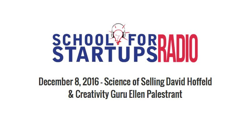 ON CREATIVITY: SCHOOL FOR STARTUPS RADIO