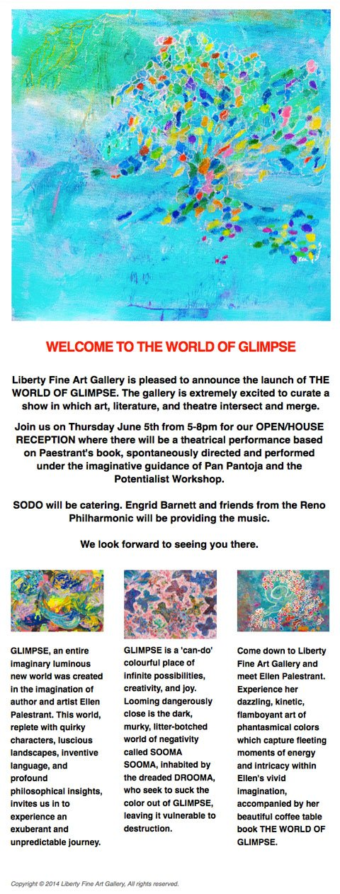 The World of Glimpse Launch