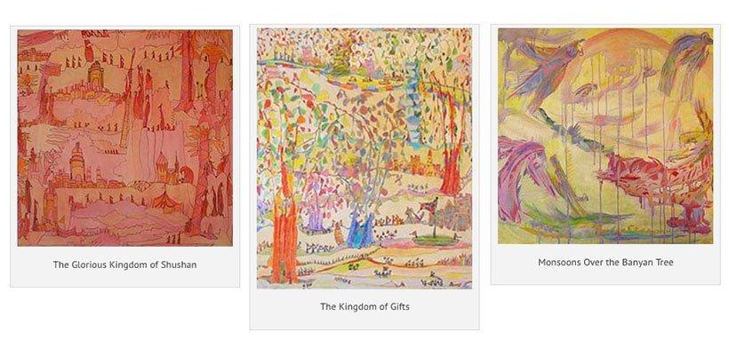 ARTIST-WRITER JILL D. GLENN: IMAGINATIVE LINKS THROUGH A LIFETIME
