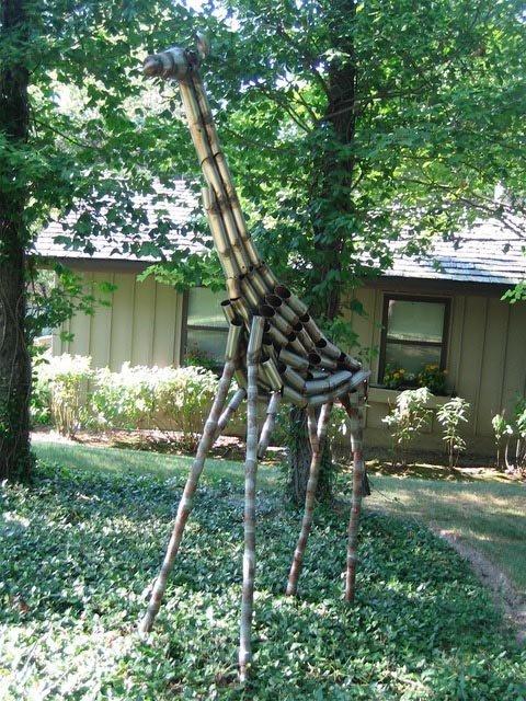 Dede's tall giraffe