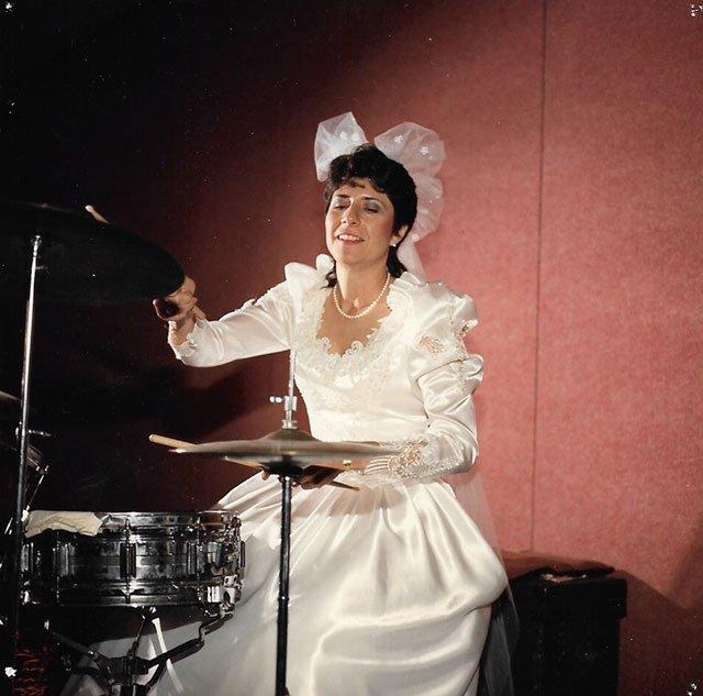 Maryanne Kremer on drums