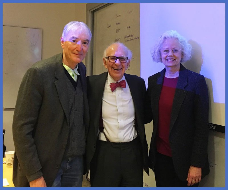 Thomas & Patty with Eric Kandel