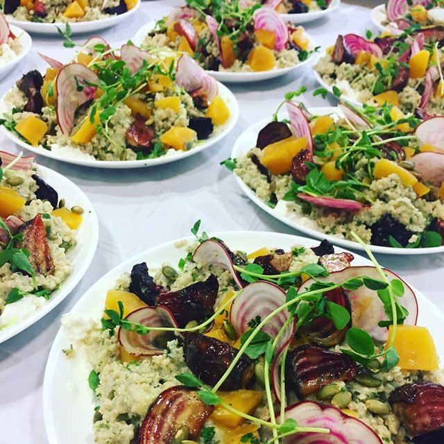 catered salads by Ricci Smith