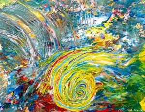 Painting:  Creative Vaulting and Somersaulting
