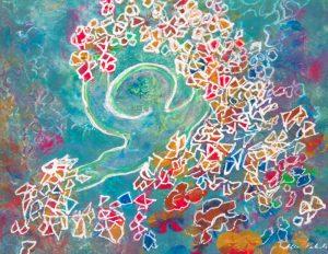 Painting: Juggling the Jugglegems
