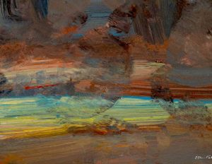 Painting:  Light in The Distant Gloomland