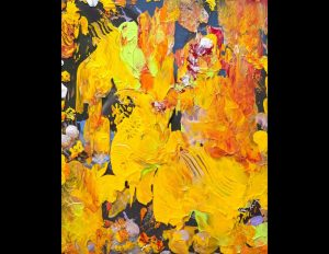 Painting: Marigold Explosion