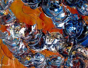Painting:  Trashburgers