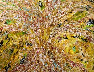 Painting: The Golden Branches of Autumn